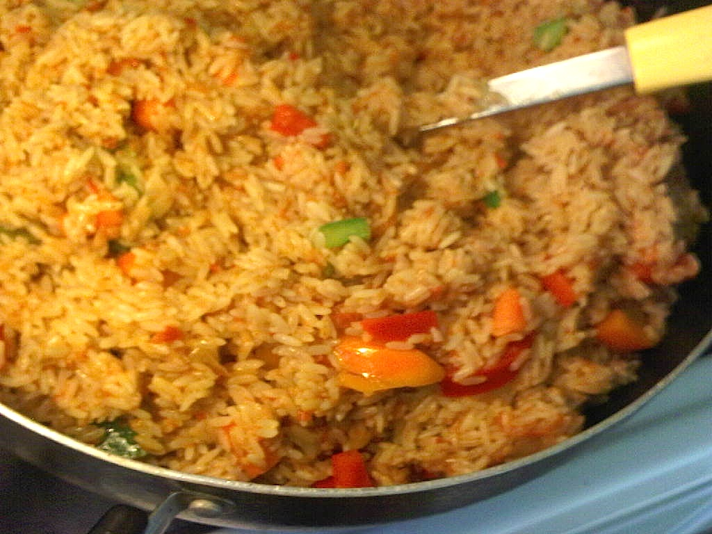 ... jollof rice with vegetables by afrolems. African food at its best