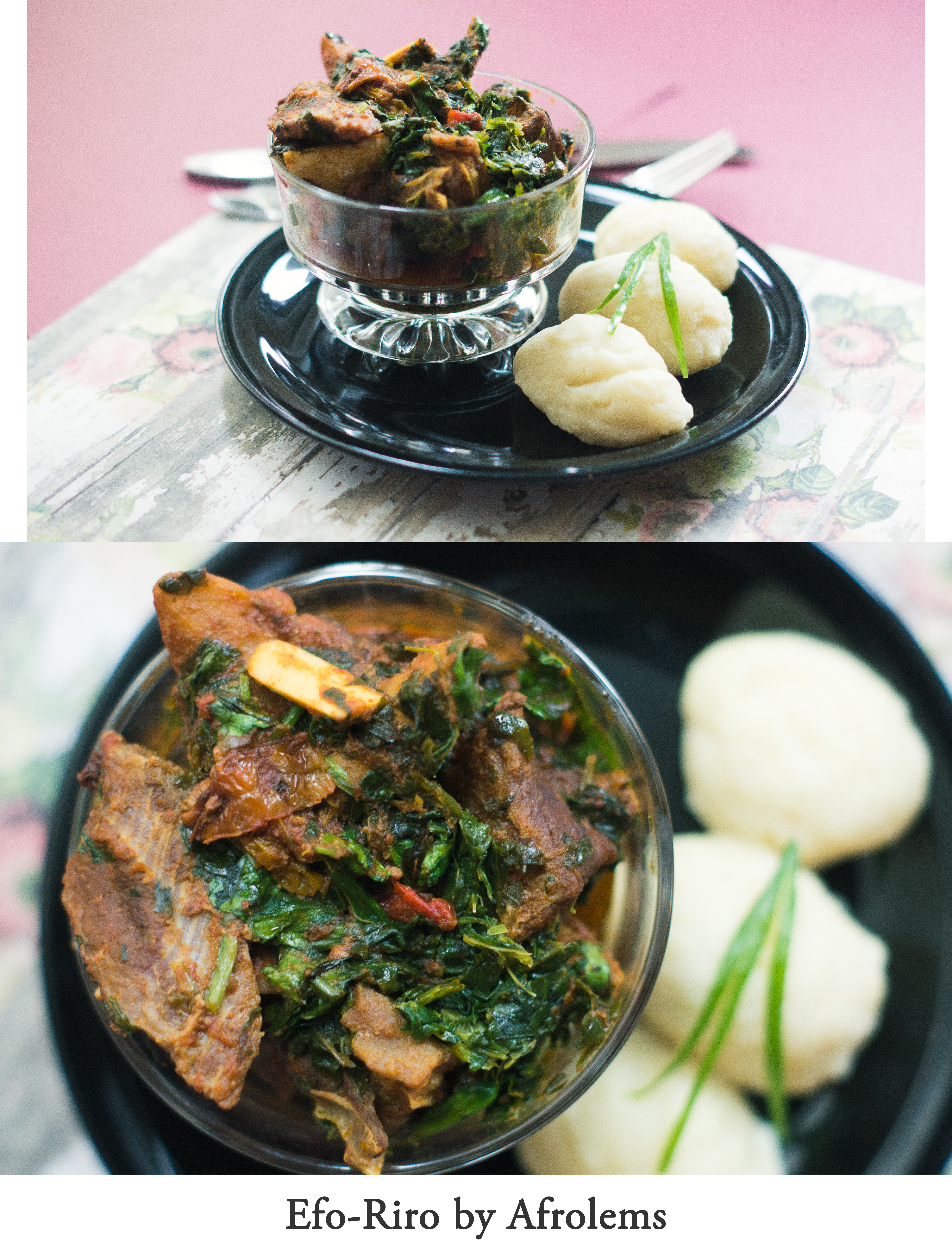 Nigerian recipe archives afrolems nigerian food blog efo riro nigerian soup recipe with pounded yam forumfinder Gallery