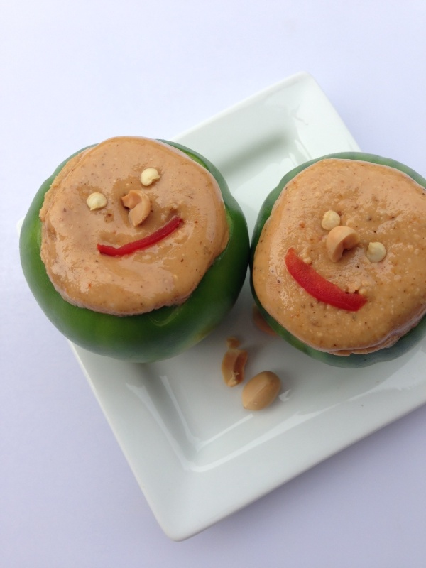 Garden egg and peanut butter nigerian appetizer