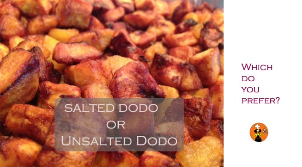 salted or unsalted dodo