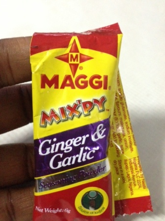 maggi mix'py ginger garlic variant