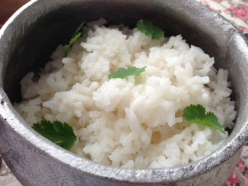 boiled tuwo rice